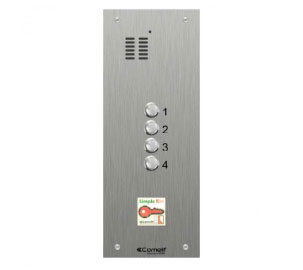 Comelit iKall VR engravable audio only panels with prox window
